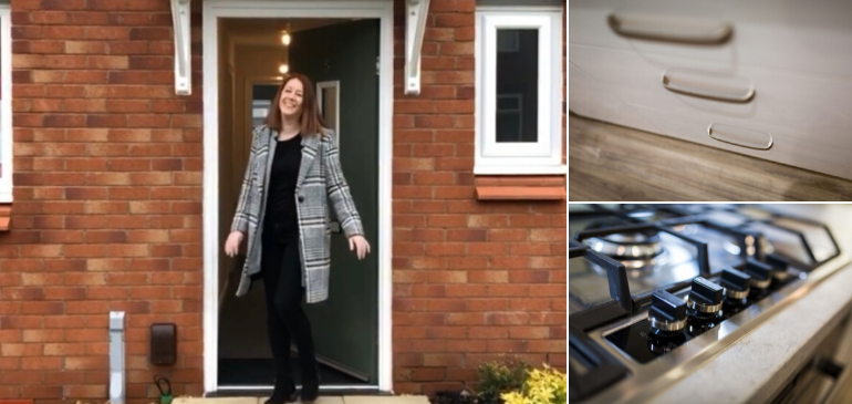 Plumlife helps Carrianne step onto the property ladder in Salford Image