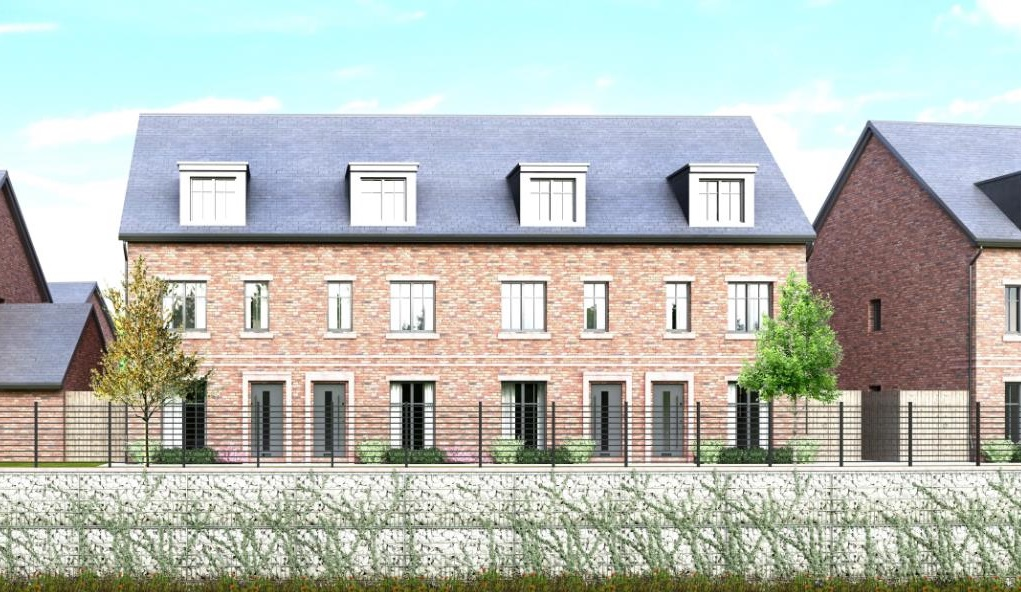 Water Mill Gardens Otterton G 3bed town house Cube
